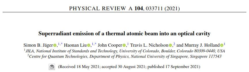 New paper comes out today
